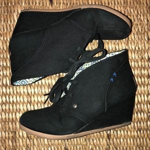 Mad Love wedge sneakers